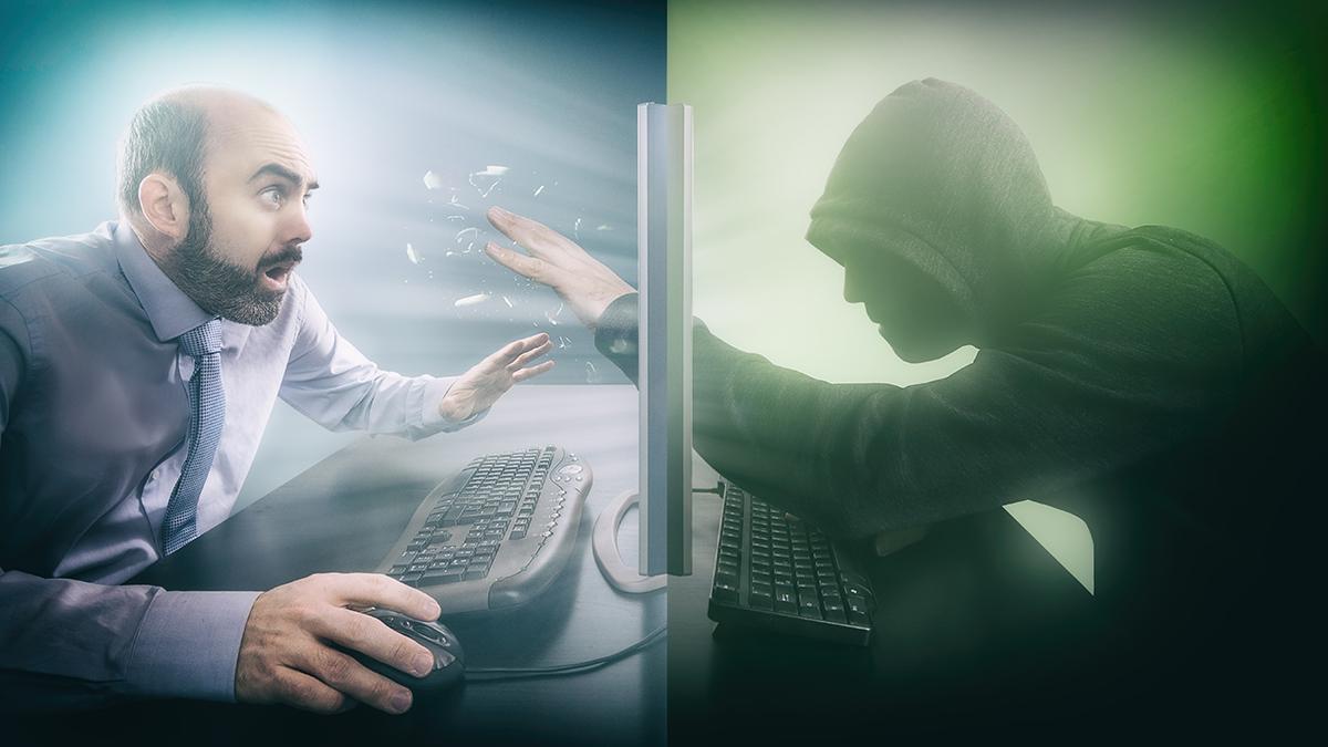 Hacker accesses data